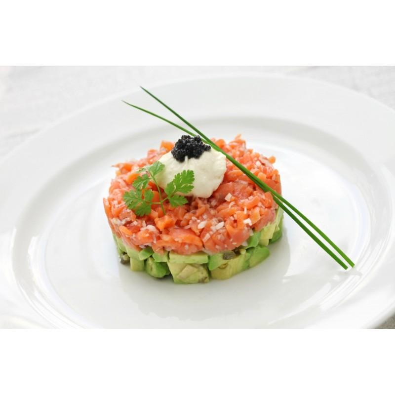 Tartar salmón con aguacate