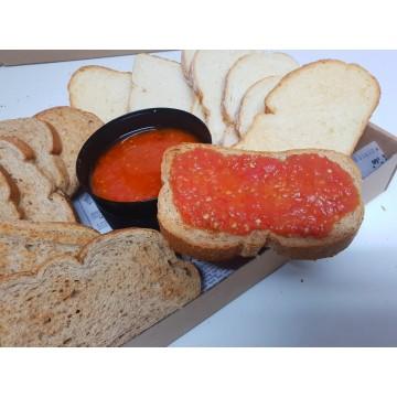 Tostadas de pan tumaca (16...