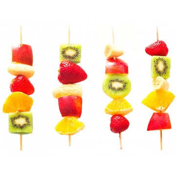 Brochetas de Frutas (10...